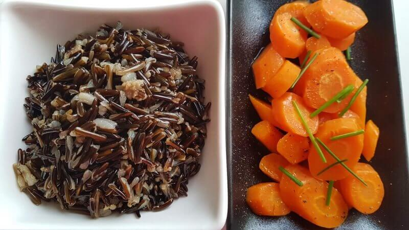 אורז בר וגזר