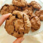 עוגיות מרנג שוקולד סדוקות